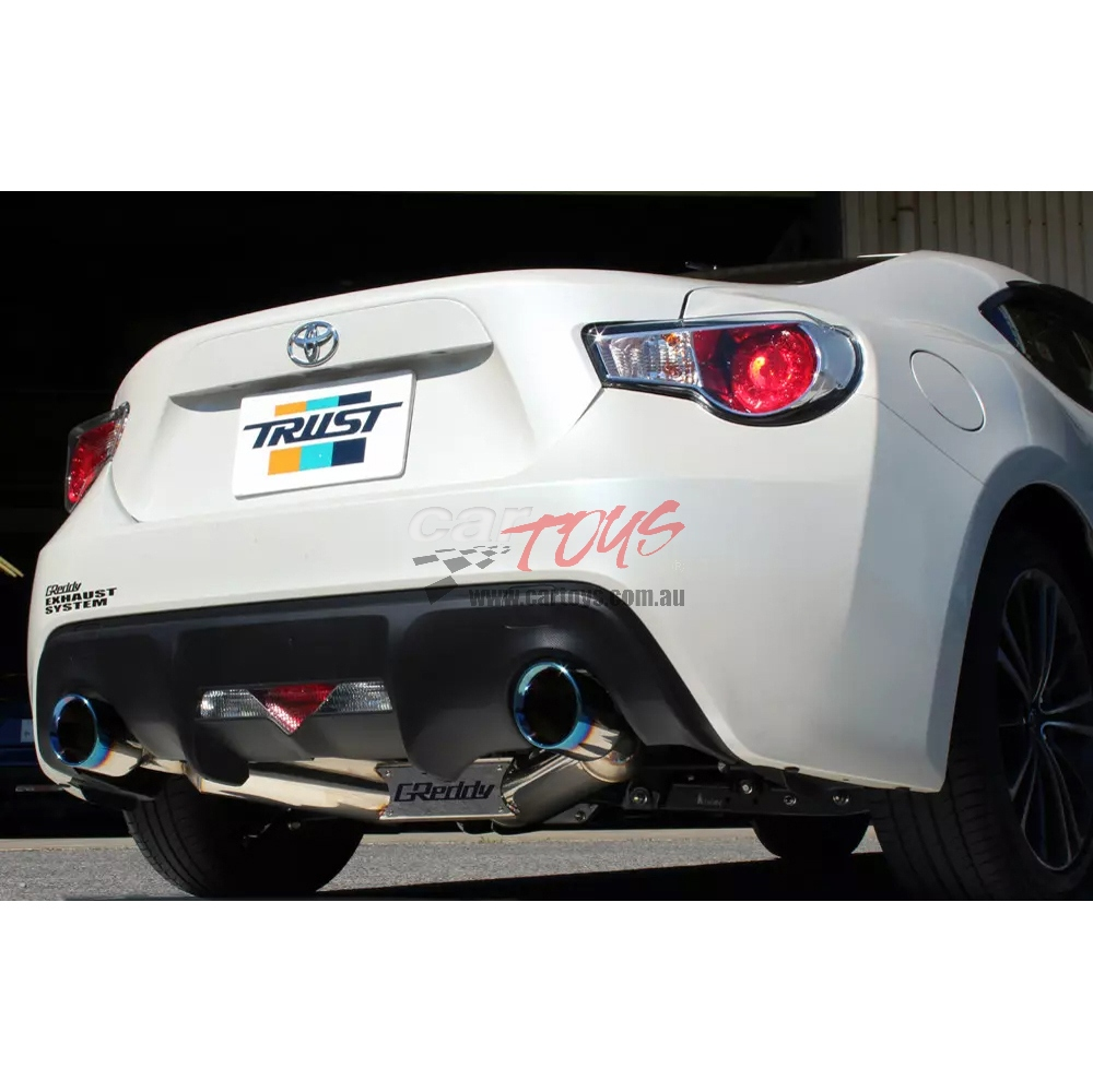Comfort Sport GT slash muffler Ver 2 Toyota 86 Subaru BRZ ZN6