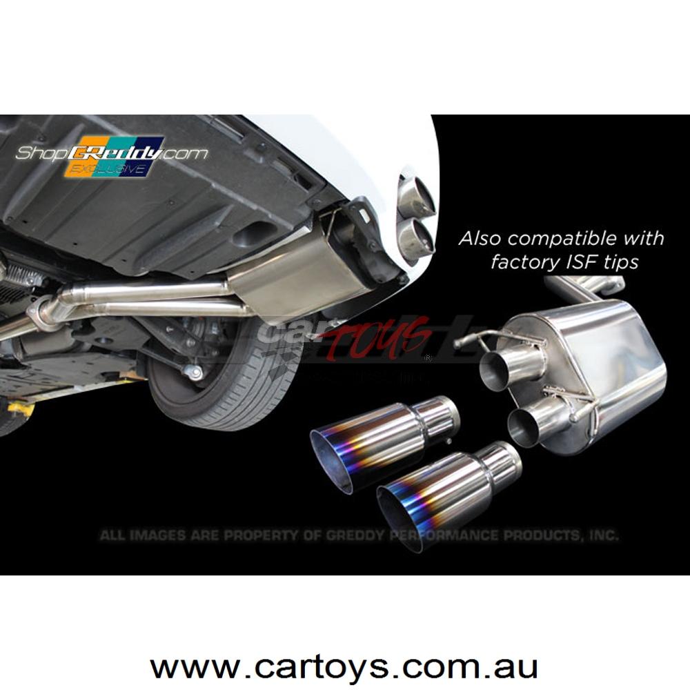 Lexus Isf Axle Back Exhaust