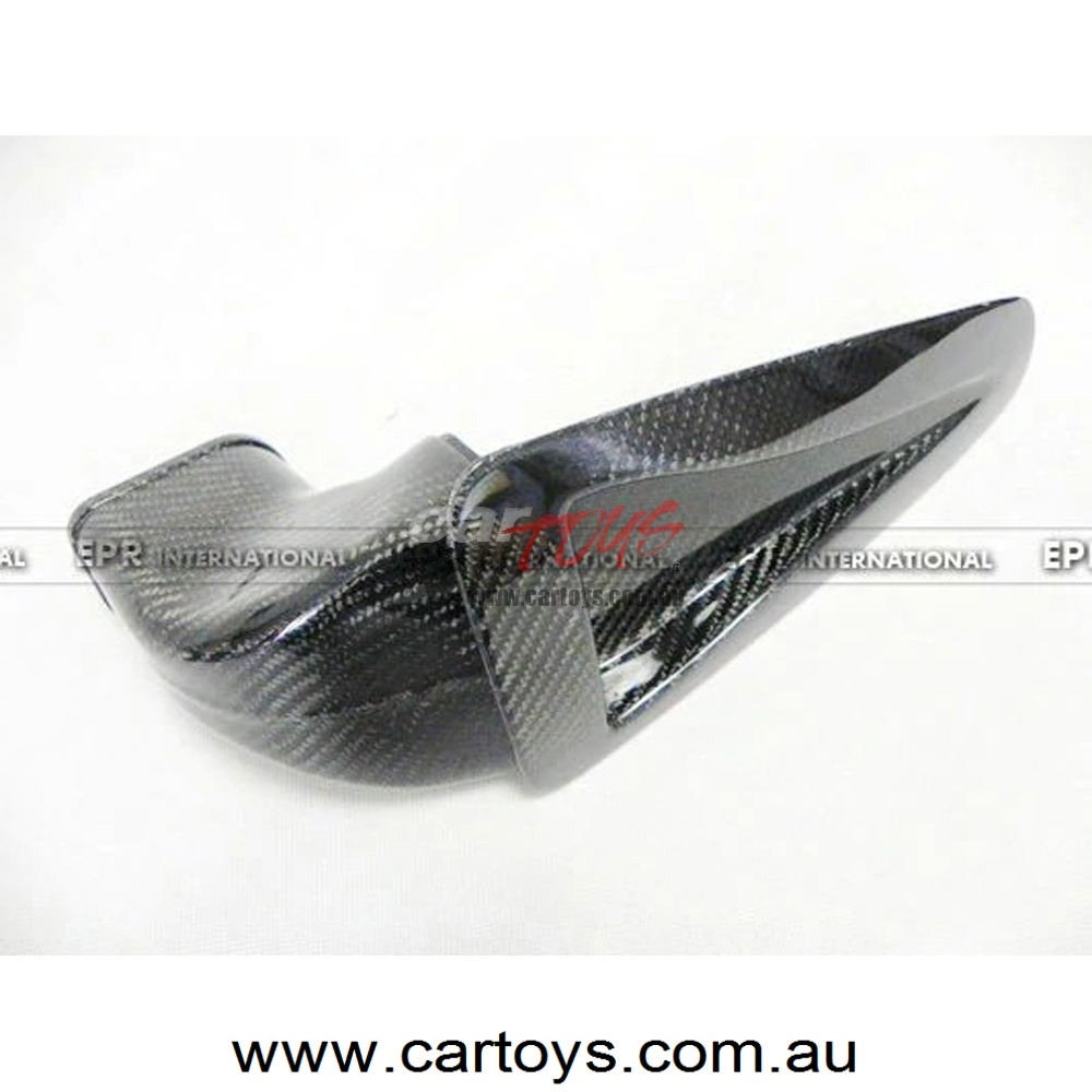 For Nissan GTR R35 OEM Carbon Fiber Hood Bonnet Vents Air Intake Tunnel BodyKits