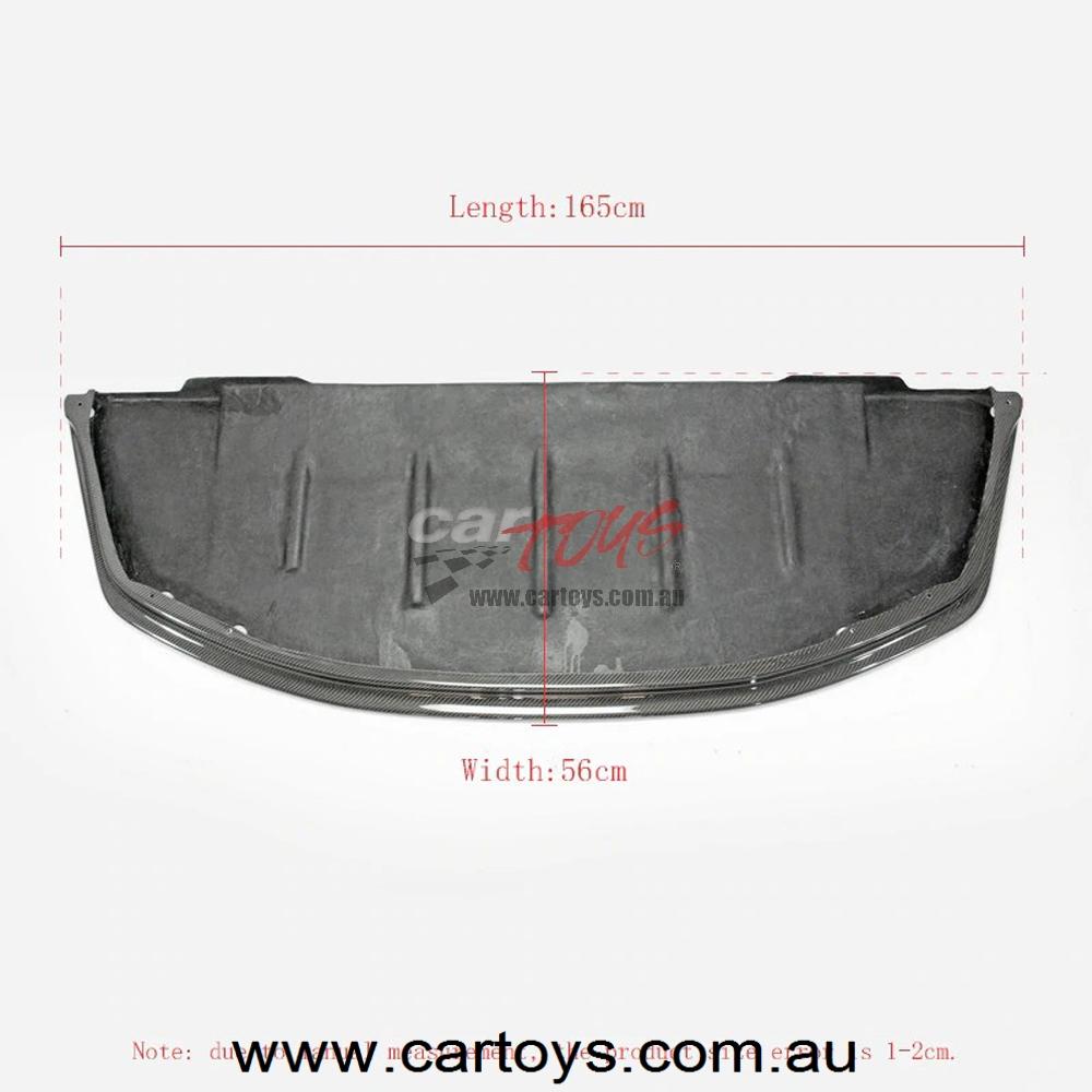 Nissan Skyline R32 GTR AB-Flug Carbon Fiber Front Lip (fit standard GTR  front bumper only) Glossy Finish Bumper Splitter Kit