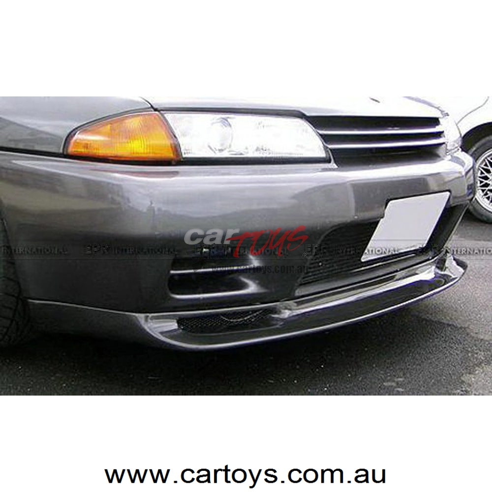 Nissan Skyline R32 GTR JUN Carbon Fiber Front Lip (Will fit on standard GTR  front bumper only)
