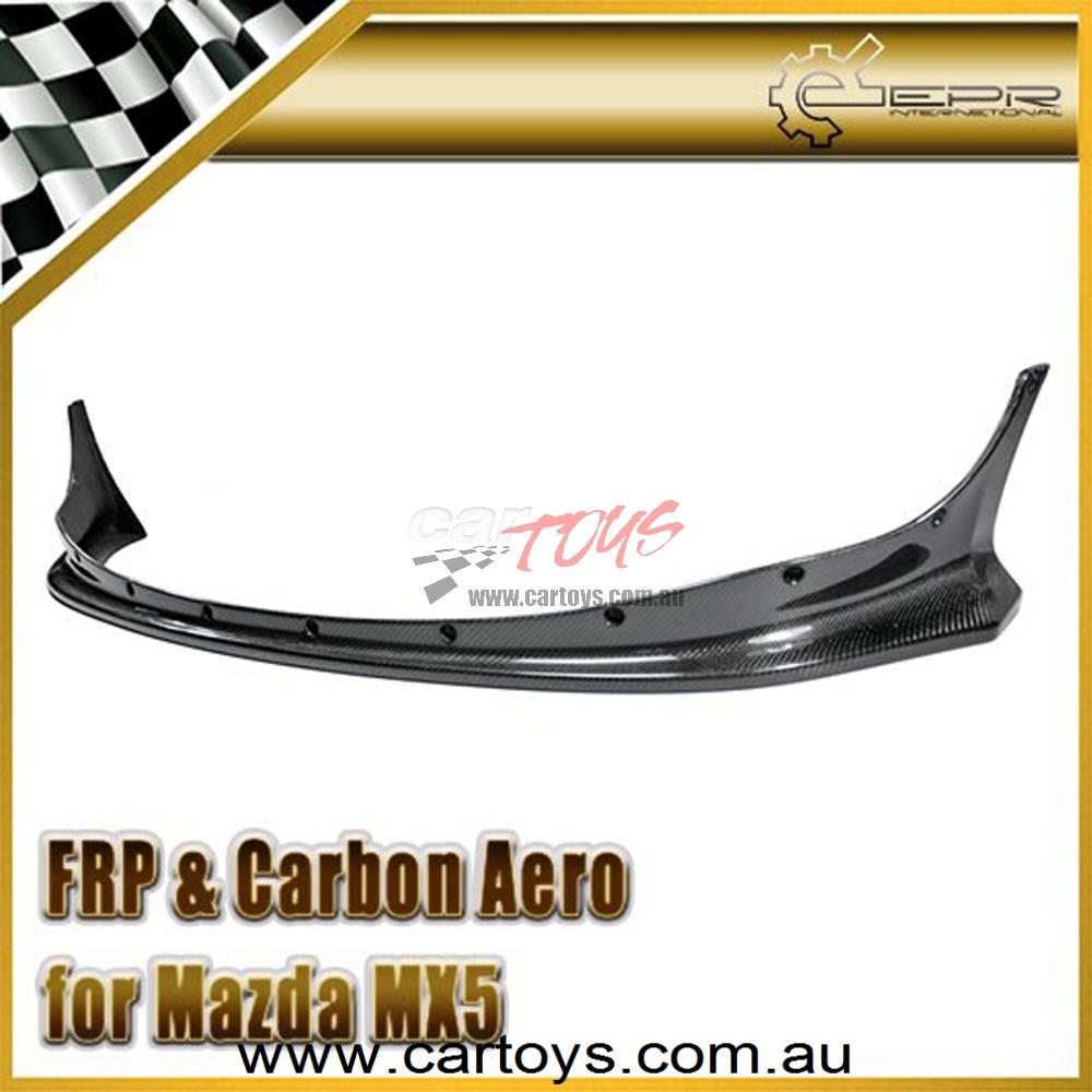 Nissan Skyline R32 GTR JUN Carbon Fiber Front Lip (Will fit on