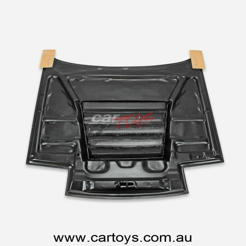 Nissan 180SX S13 Dmax Style Carbon Fiber Hood Glossy Finish Bonnet Cover DM  Tuning Vented Body Kit Trim Part