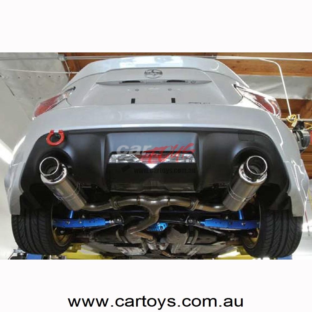 Exhaust Hi Power Spec L 86 BRZ Cat Back Carbon tip HKS