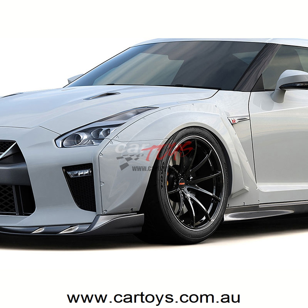 GReddy aero kit GT-R MY17 front wide fender