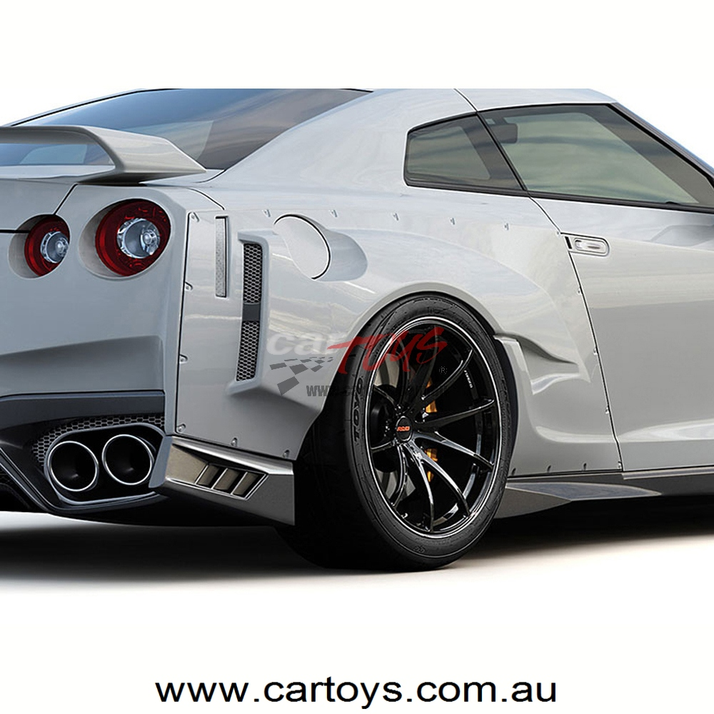 GReddy aero kit GT-R MY17 rear wide fender
