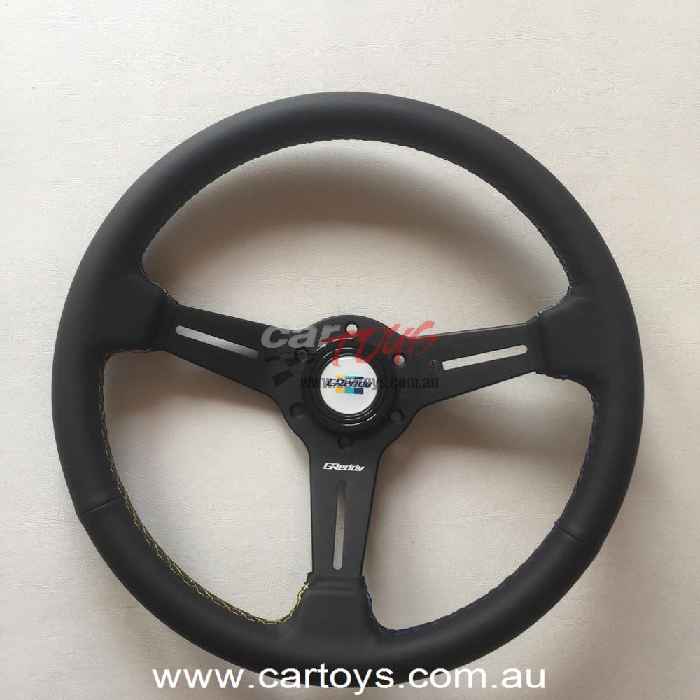 GReddy Leather Steering wheel GPP Model 16500201