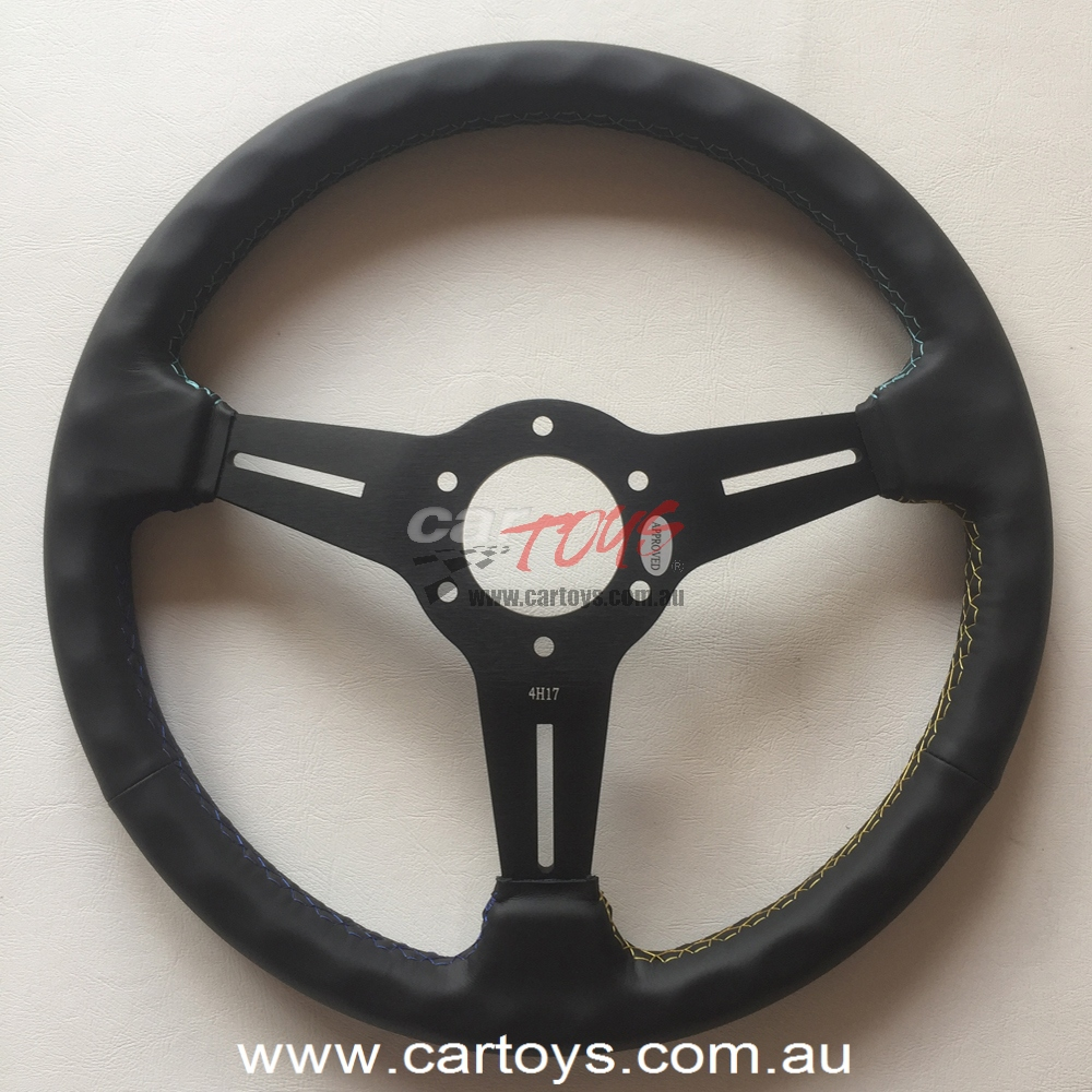 GReddy Leather Steering wheel GPP Model 16500201