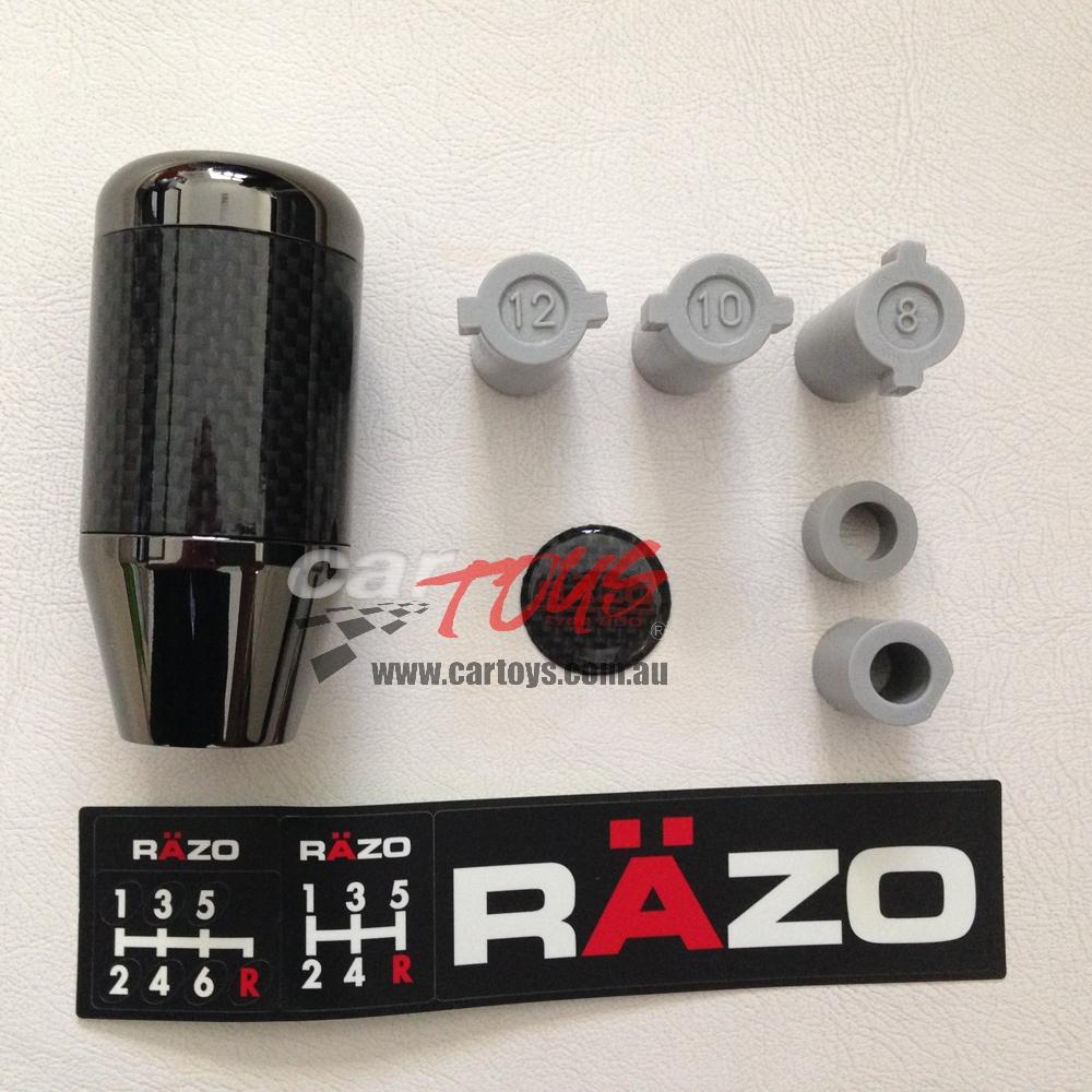 Gear Knob Carbon fibre 200g RAZO RA64