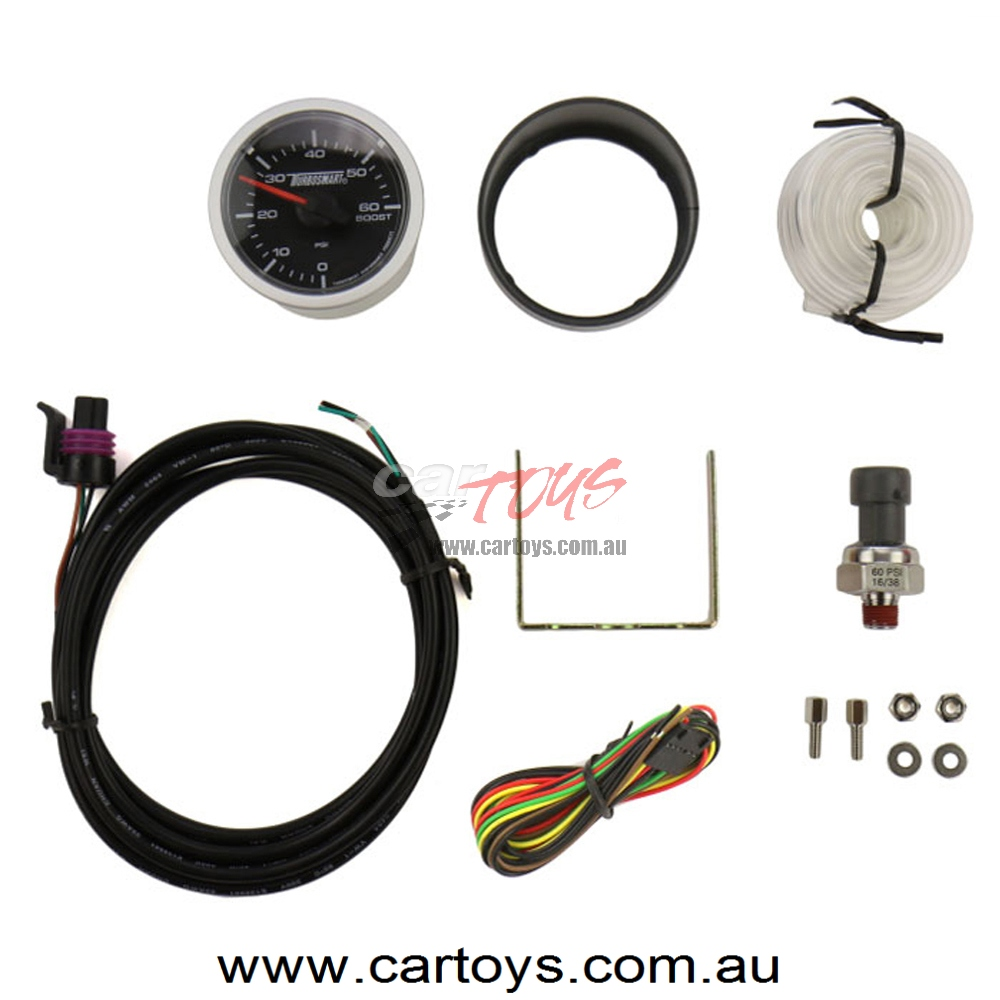 Turbosmart Gauge – Electric – Boost Only 60 PSI