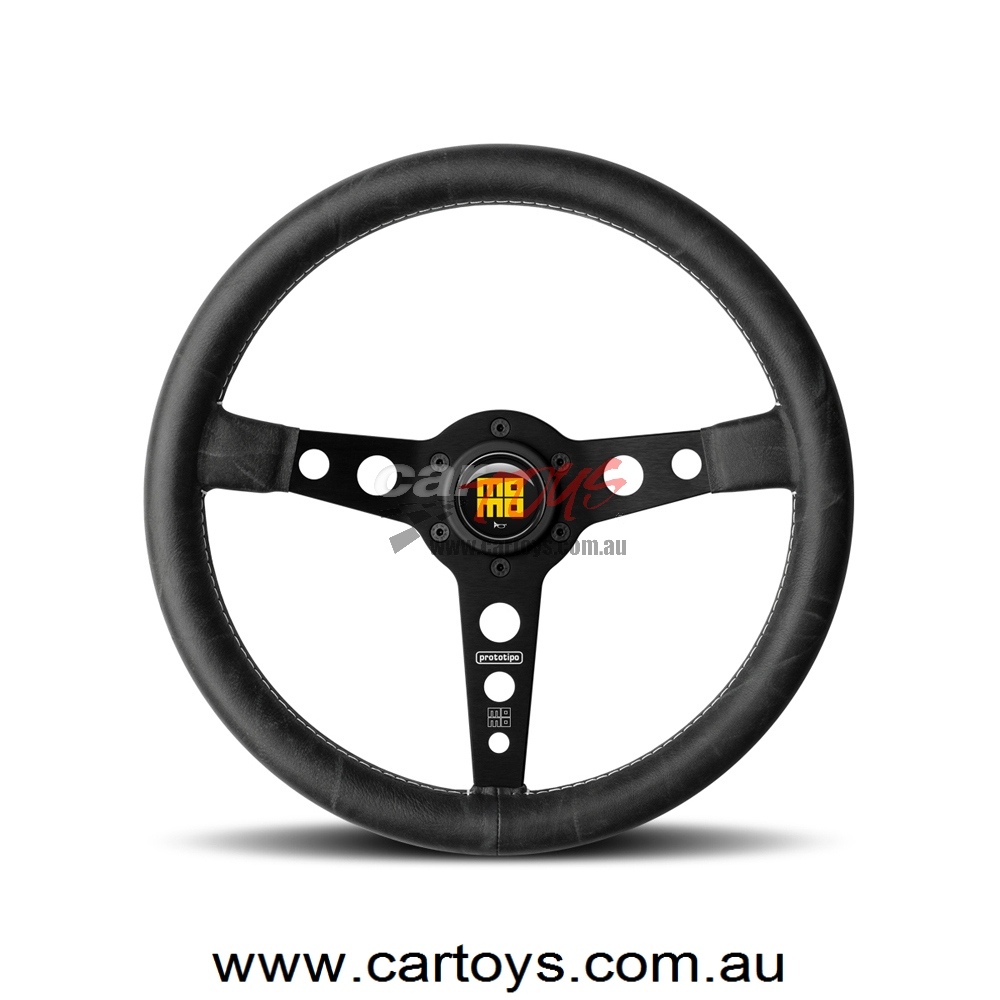 MOMO Steering Wheels HERITAGE PROTOTIPO BLACK VPROHERIT35B
