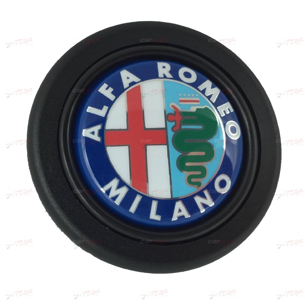Alfa Romeo logo horn button