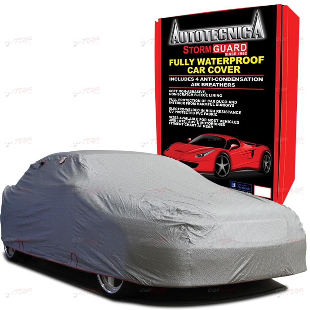 AUTOTECNICA STORMGUARD WATERPROOF & LINED CAR COVER LARGE 12 1/184 474CM